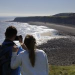 Stunning Views onto the Blast Beach at Nose's Point