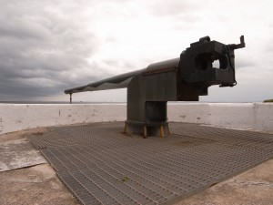 Picture of a large cannon