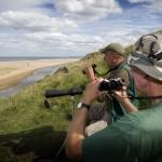 Birdwatching at Crimdon
