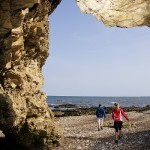 Blackhall caves