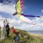 Kite flying at Crimdon