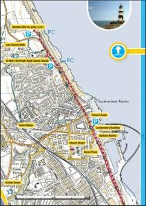 Seaham Map