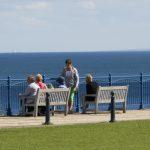 Enjoing Sea views on Seaham promenade