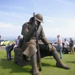 Tommy Statue at Seaham Harbour
