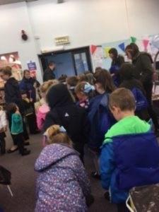 People at coastal memories blackhall library event