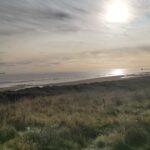 Hartlepool beach banks